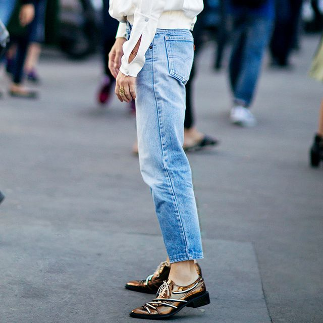 Tip of the Day: What to Wear With Metallic Flats