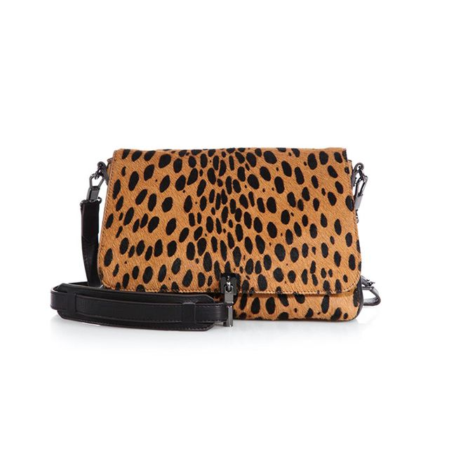 Elizabeth and James Cynnie Printed Calf Hair Shoulder Bag