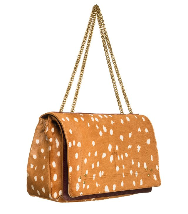 Jerome Dreyfuss Bambi Print Pony Hair Bag
