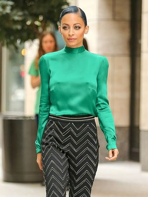 Nicole Richie's Guide to Wearing Color at the Office