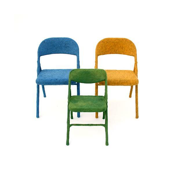 Tanya Aguiñiga Felt Chairs
