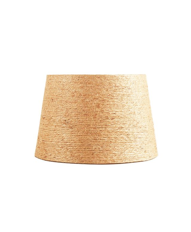 World Market Twine-Wrapped Accent Lamp Shade