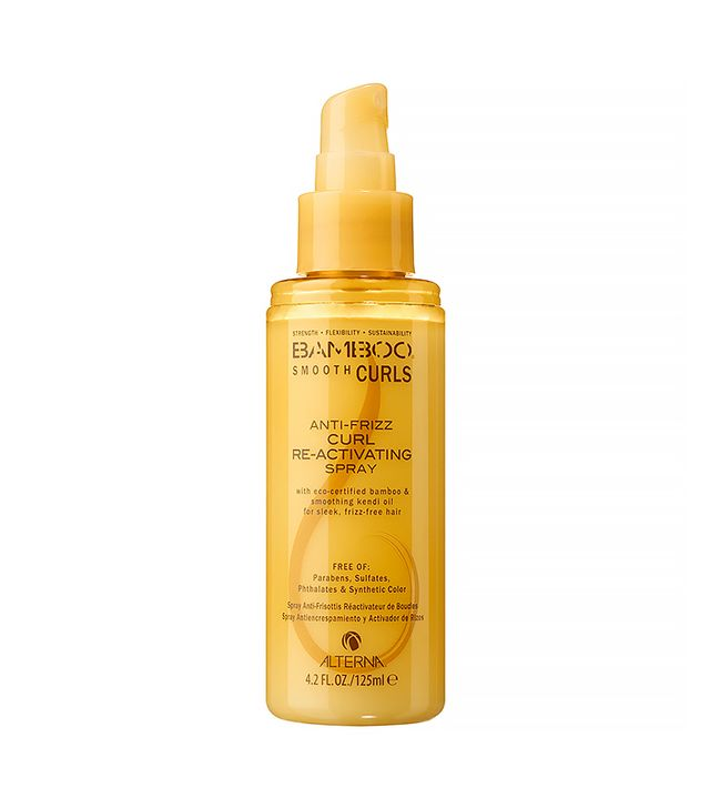 Alterna Dry Shampoo Anti-Frizz Curl Re-Activating Spray