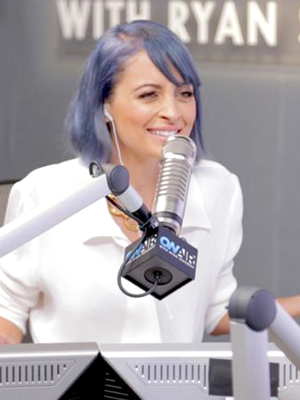 Nicole Richie Gets Schooled in the Art of Radio DJing by Ryan Seacrest