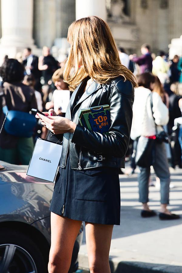Similar miniskirt: Mango Asymmetric Zip Miniskirt ($50) in Black