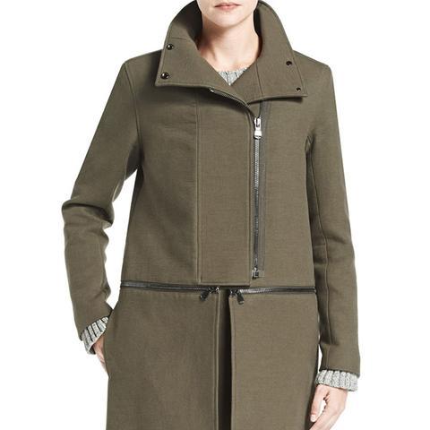 Anise Zip Off Coat