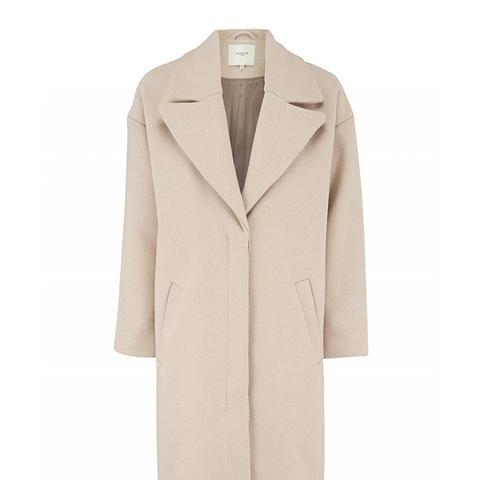 Grey Oversized Catrin Coat