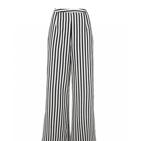 Black Amelie Striped Shorts