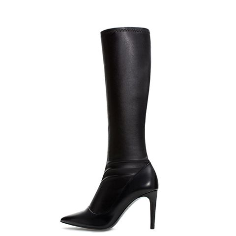 Stretch High Heeled Boot