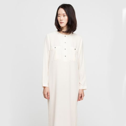 Sylvia Silk Dress