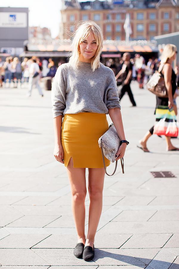 Similar miniskirt: Marques'Almeida x Topshop Silk Taffeta Wrap Skirt ($190)