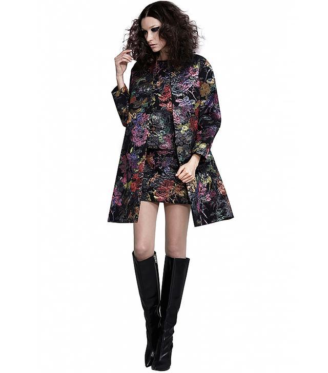 Alice + Olivia Irvine Cocoon Coat