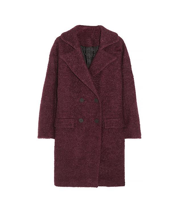Karl Lagerfeld Hadley Oversized Bouclé Coat