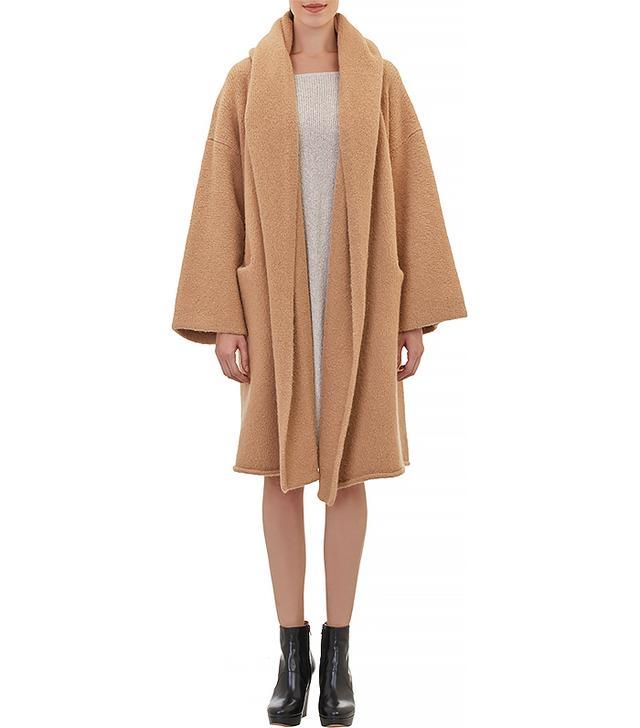 Lauren Manoogian Hooded Capote Sweater Coat