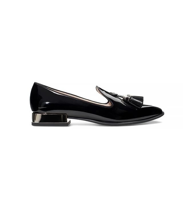 Zara Patent Slip On Shoes