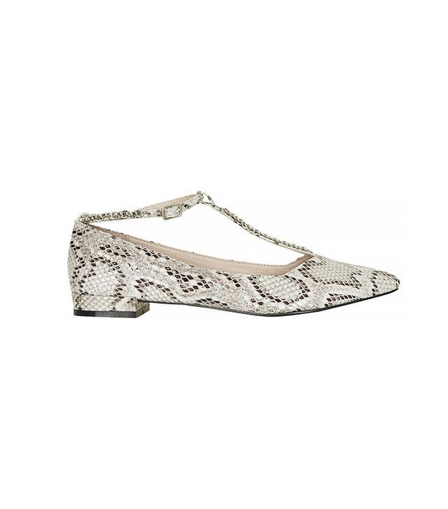 Topshop Stepney Chain Shoes