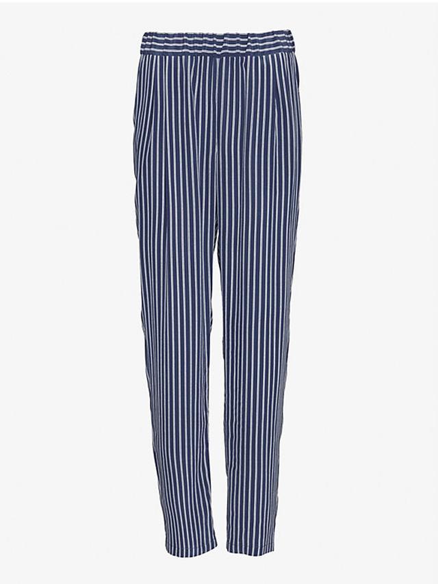 Equipment Exclusive Hadley Silk Striped Pants