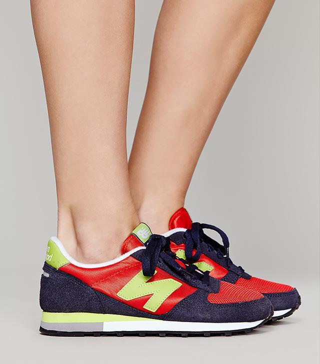 New Balance Classic Red Runner