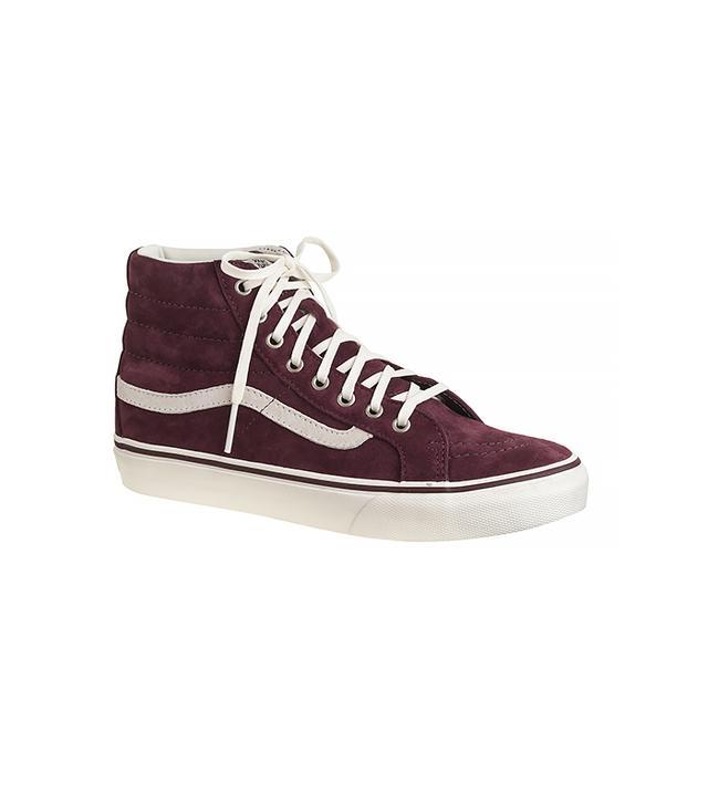 Vans for J. Crew SK8 Hi Sneakers