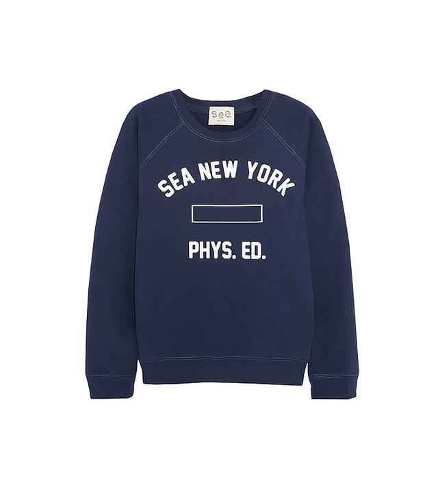 Sea Cotton-Blend Jersey Sweatshirt