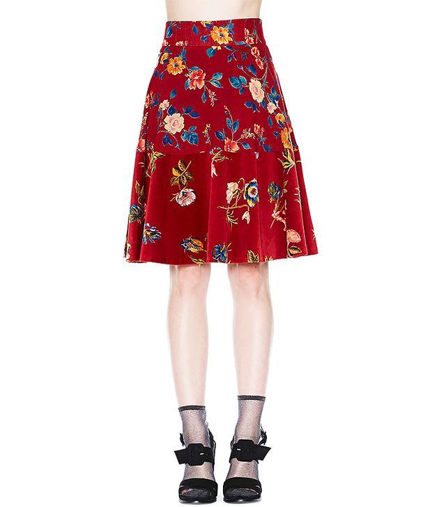 Kenzo Bud of Roses Skirt