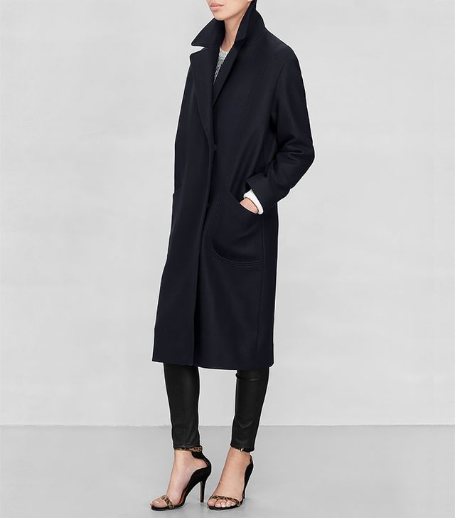 &Other Stories Masculine Wool Coat