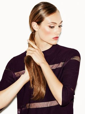How To: Sleek Double Ponytail in Under 3 Minutes