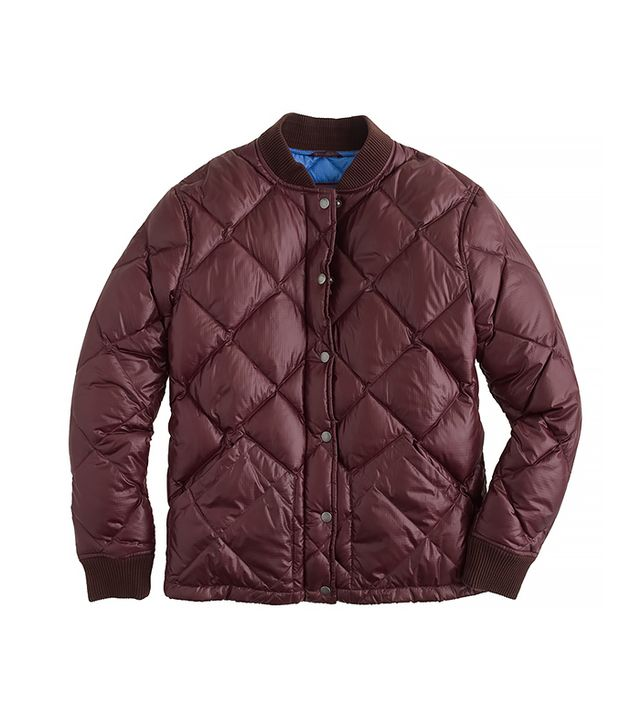 J.Crew Collection Shiny Puffer Jacket