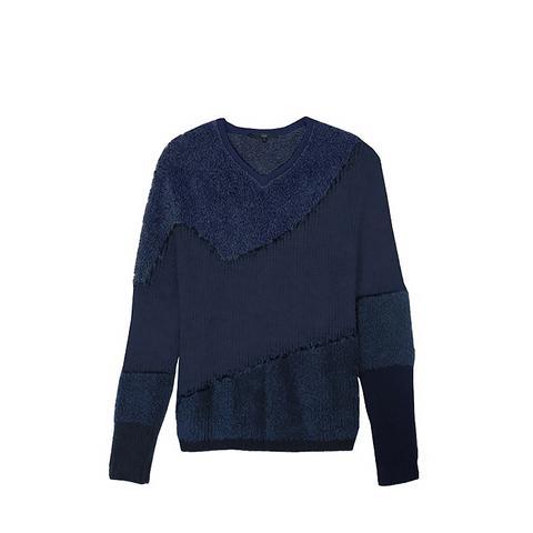 Mohair V-Neck Pullover