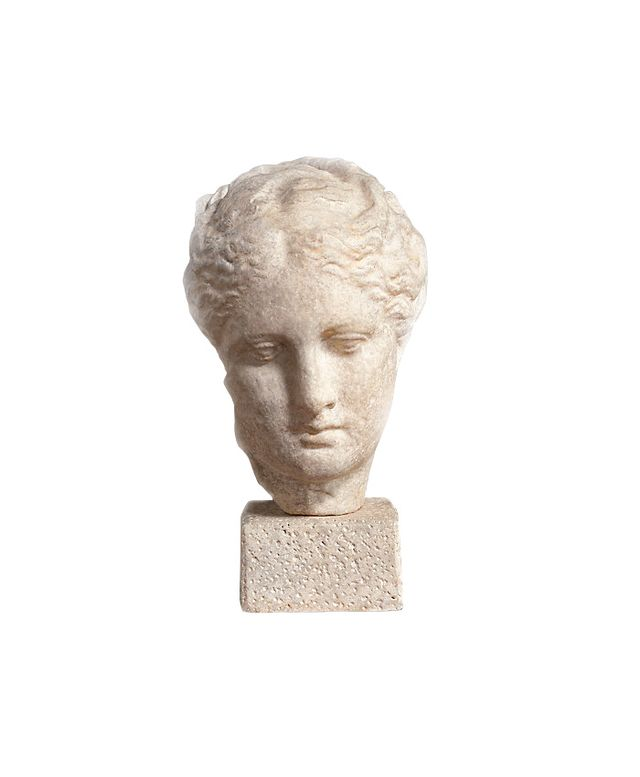 Restoration Hardware Bust of Greek Goddess Hygieia