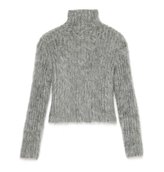 Salvatore Ferragamo Texture Mohair Sweater