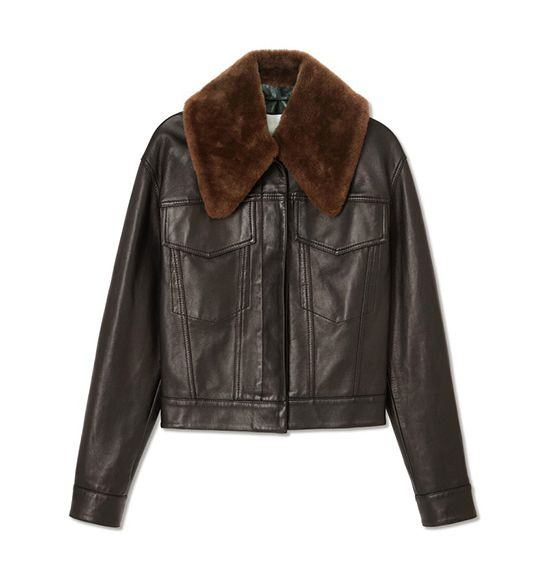 3.1 Phillip Lim Western Leather Jacket