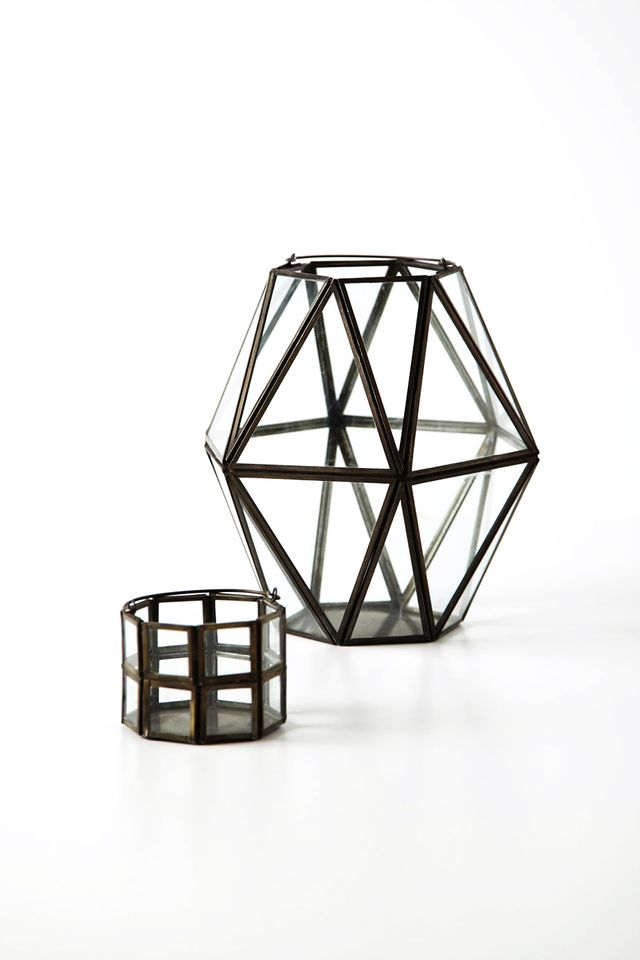 Anthropologie Framework Lantern