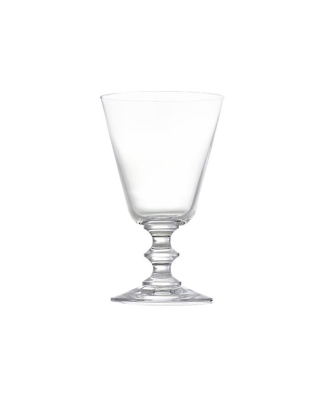 Crate & Barrel French Wine Glass