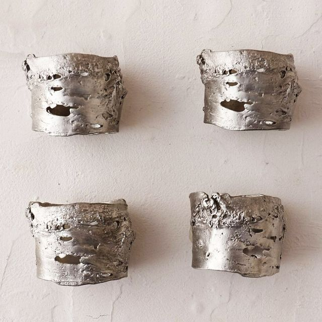 Terrain Birch Bark Napkin Rings