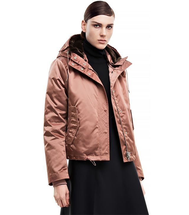 Acne Studios Powder Short Pink Jacket