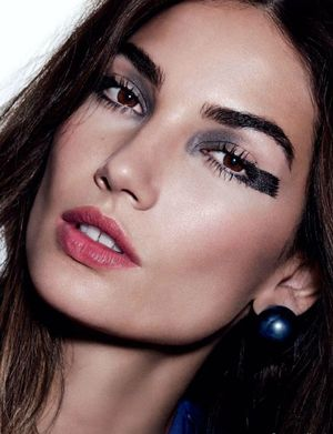 Lily Aldridge Shows Off 4 Bold Beauty Looks For Allure Russia