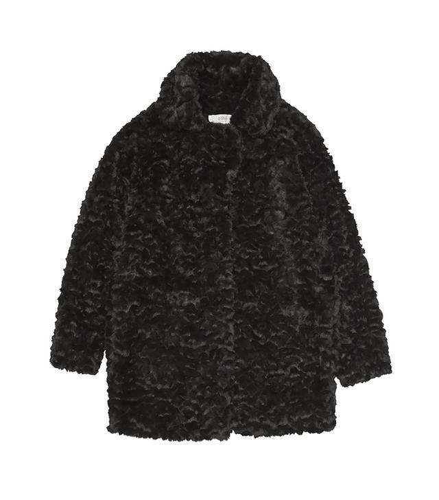 Vanessa Bruno Athe Buddy Fur Effect Coat