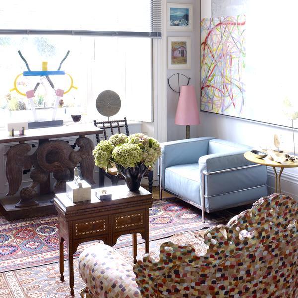 Inside an Artist's Creative London Home