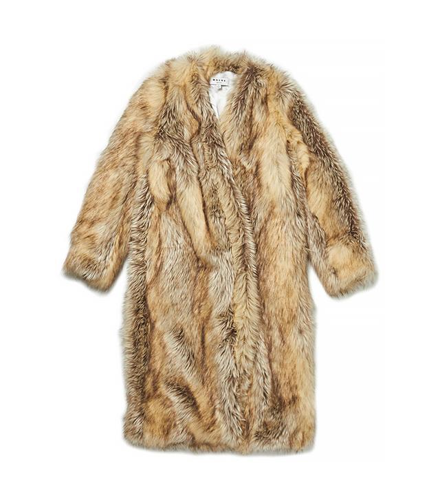 Wayne Faux Fur Coat