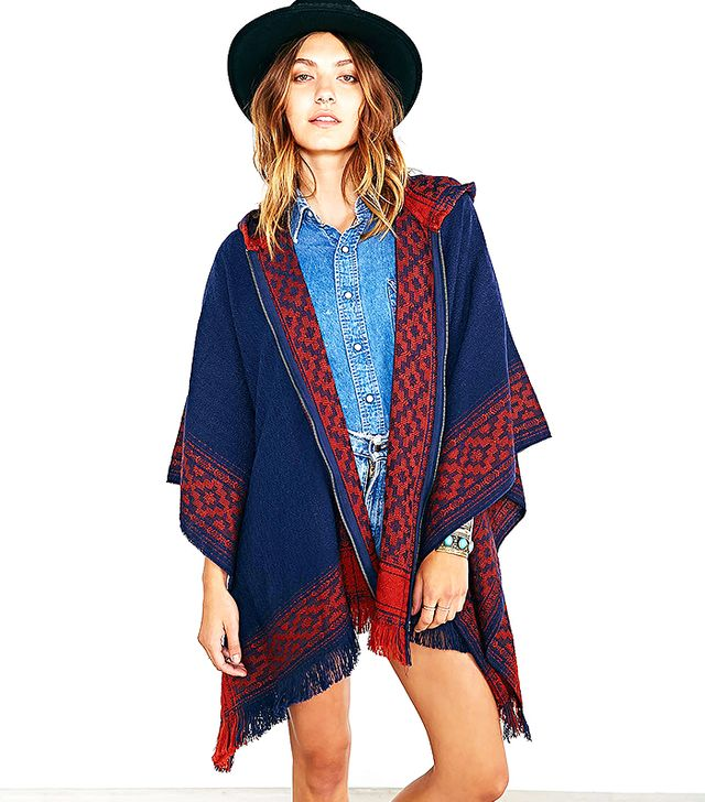 Ecote Blanket Poncho Coat
