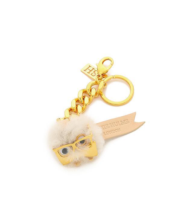 Sophie Hulme Small Pom Pom Keychain