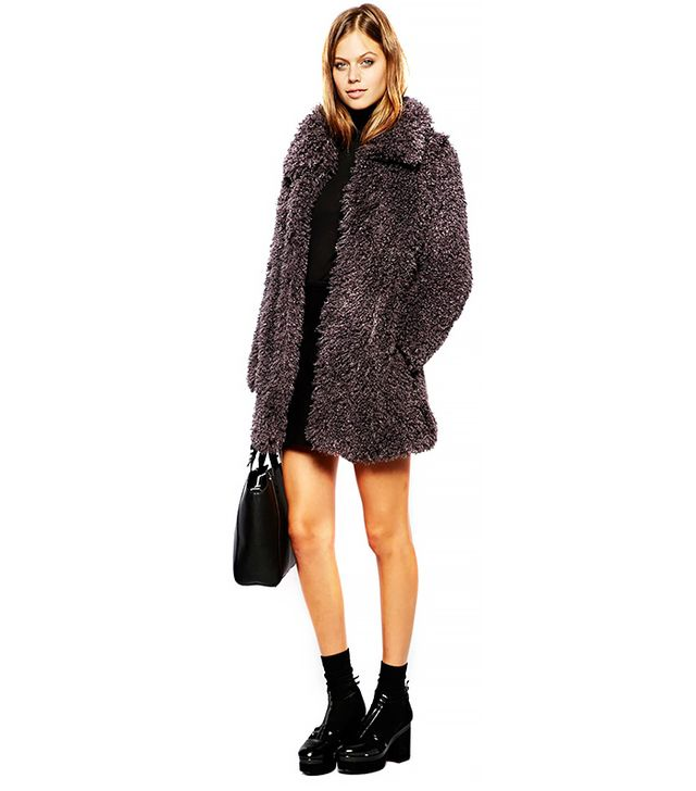 Unreal Fur Fur De-Fur Coat