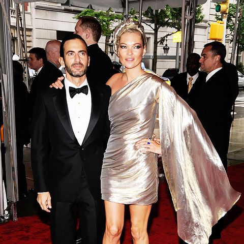 Who: Kate Moss and Marc Jacobs