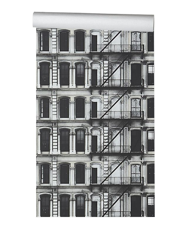 CB2 Facade Self-Adhesive Wallpaper
