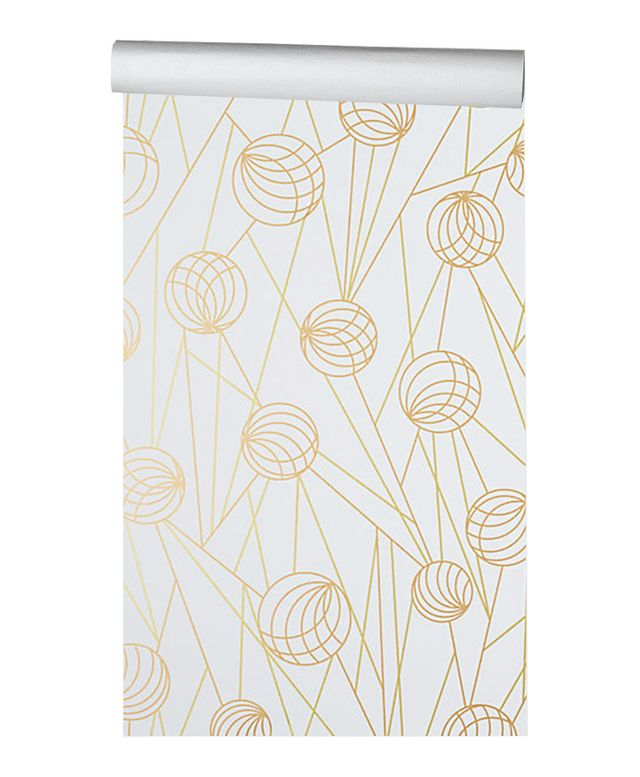 The best places to buy temporary wallpaper online mydomaine for Anthropologie etched arcadia mural