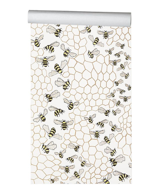 Anthropologie Bee Colony Wallpaper