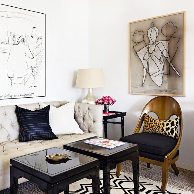 Tour a Glamour Magazine Editor's Chic Office