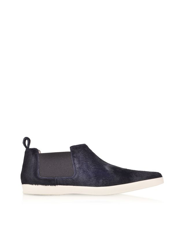 Marc Jacobs Luxor Navy Blue Haircalf Sneaker
