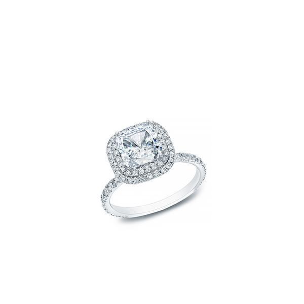 Auriya Diamond Double Halo Engagement Ring